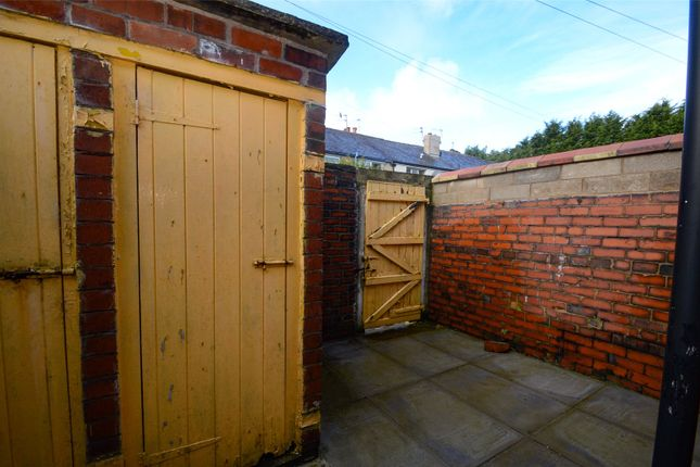 Rear Yard of Monk Street, Accrington, Lancashire BB5