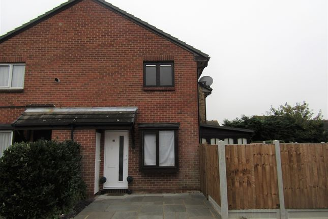 Thumbnail Semi-detached house for sale in Kirton Close, Hornchurch