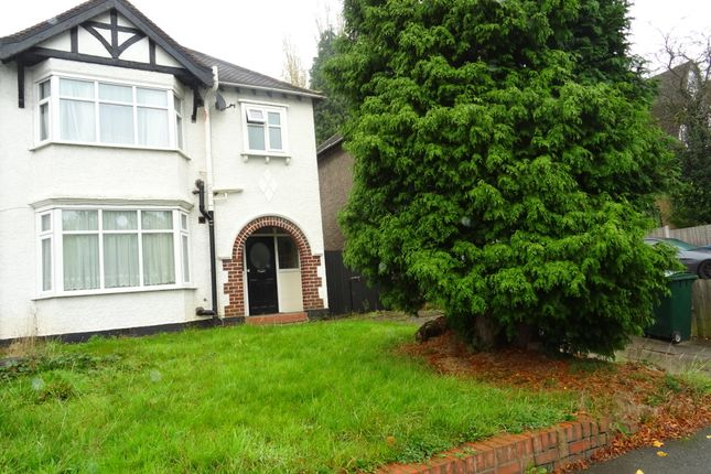 Thumbnail Detached house to rent in Fletchamstead Highway, Canley, Coventry