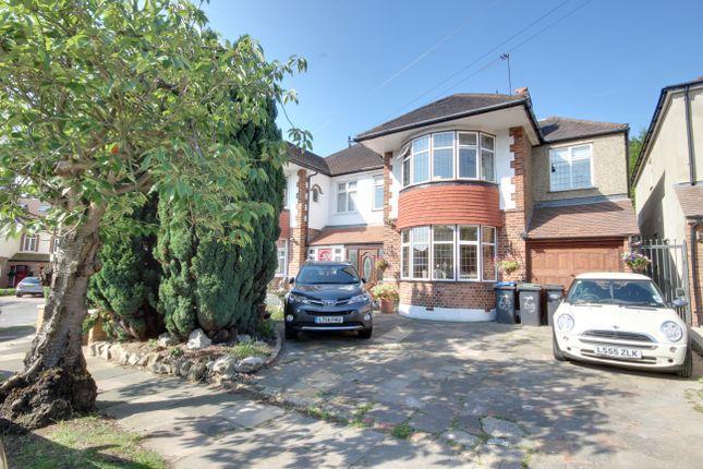 Thumbnail Semi-detached house for sale in Sheringham Avenue, Oakwood