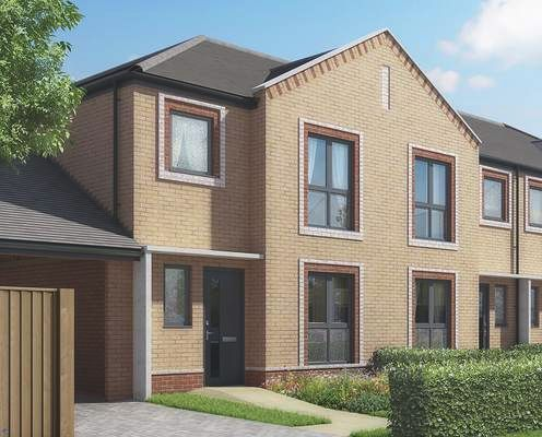 Thumbnail Terraced house for sale in Tower View, Kings Hill, Kent