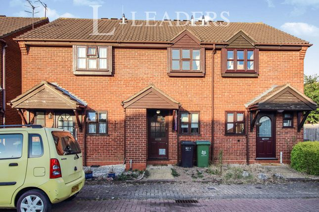 Thumbnail Terraced house to rent in Larkspur Road, St Peters, Worcester