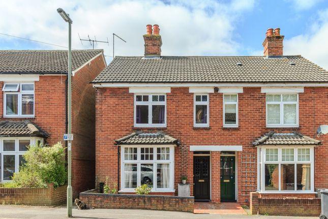 Thumbnail Semi-detached house for sale in Frances Road, Basingstoke, Hampshire