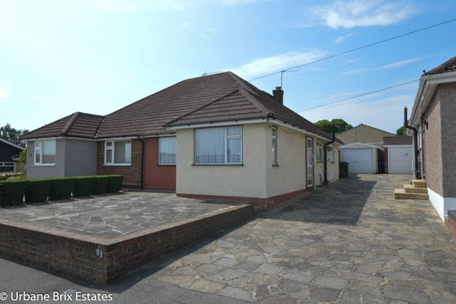Thumbnail Semi-detached bungalow for sale in Red Lodge Road, Bexley