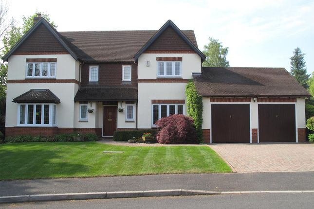 Thumbnail Detached house for sale in Mount Close, Highclere, Newbury