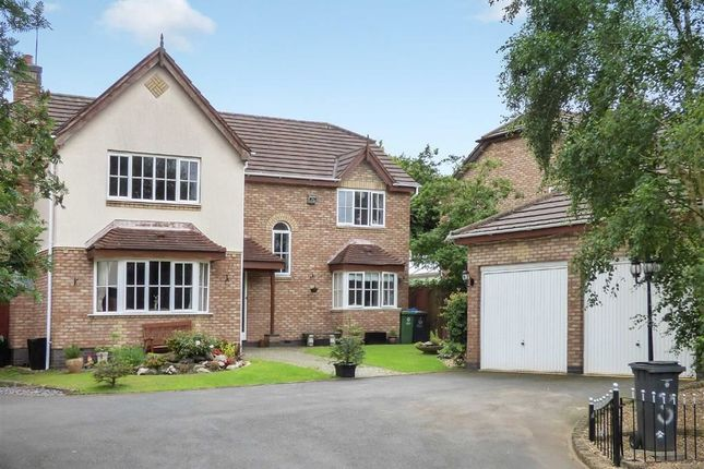Thumbnail Detached house for sale in Chestnut Grove, Penkridge, Stafford