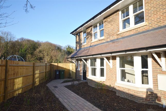 Thumbnail End terrace house to rent in Taylor Close, Garston, Hertfordshire