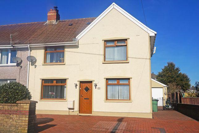 Thumbnail Semi-detached house for sale in Gelliargwellt Road, Penybryn, Hengoed