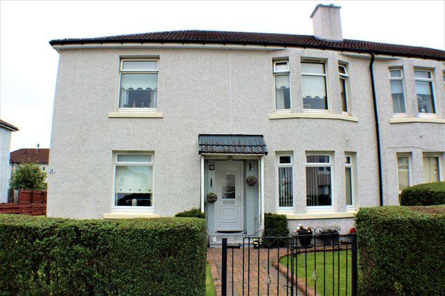 Thumbnail Flat for sale in Carlibar Avenue, Glasgow