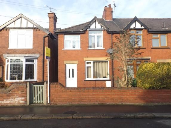 Thumbnail End terrace house for sale in Devonshire Road East, Hasland, Chesterfield, Derbyshire