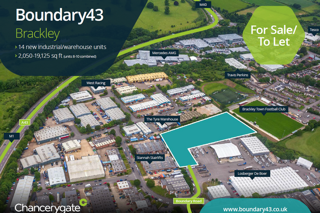 Thumbnail Industrial for sale in Boundary Road, Brackley
