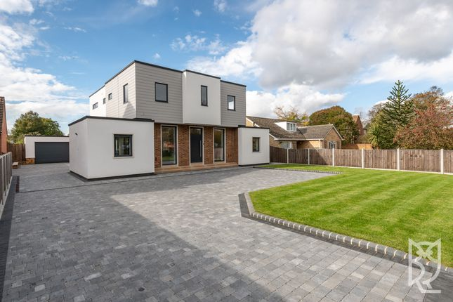 Thumbnail Detached house for sale in Bromley Road, Lawford, Essex