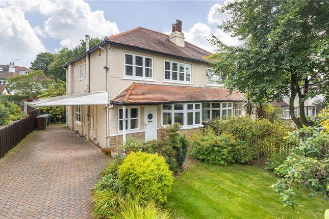 Thumbnail Semi-detached house for sale in Hollin Gardens, Headingley, Leeds