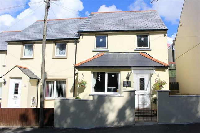 Thumbnail Semi-detached house for sale in Priory Hill, Cromwell Road, Hubberston, Milford Haven