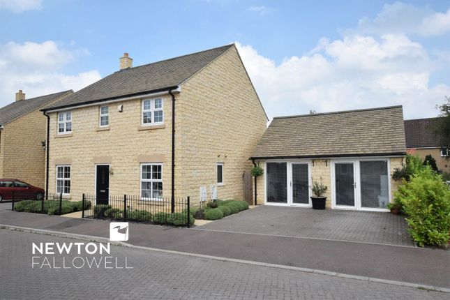 Thumbnail Detached house for sale in Begy Gardens, Greetham, Oakham
