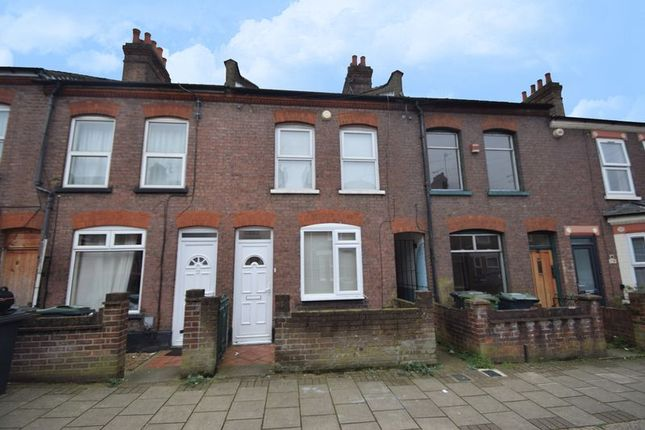 Thumbnail Terraced house to rent in Reginald Street, Luton