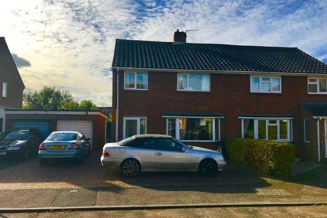Thumbnail Semi-detached house to rent in Saunders Close, Watlington, Oxon