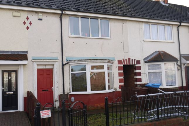 Thumbnail Terraced house to rent in 33rd Avenue, Hull