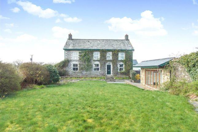 Thumbnail Detached house for sale in Liftondown, Lifton, Devon