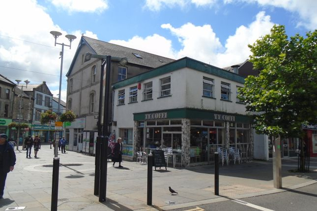 Thumbnail Retail premises to let in Two Storey Shop & Premises, 19 Market Street, Bridgend