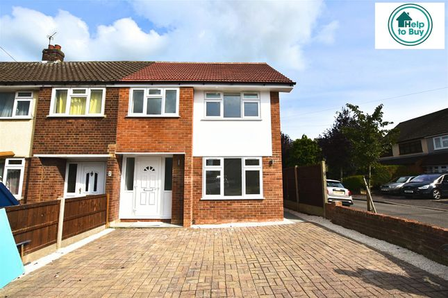 Thumbnail Property for sale in Cornwall Close, Hornchurch