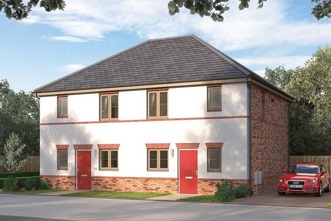 "Thumbnail Semi-detached house for sale in ""The Knightsbridge"" at Ward Road, Clipstone Village, Mansfield"