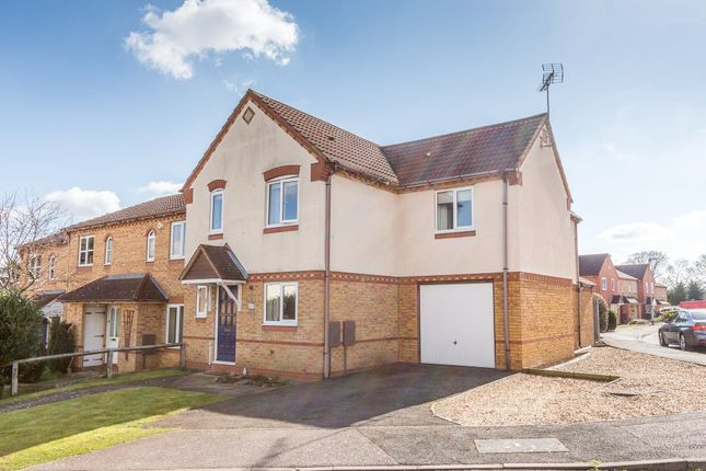 Thumbnail End terrace house for sale in Lavender Way, Rushden