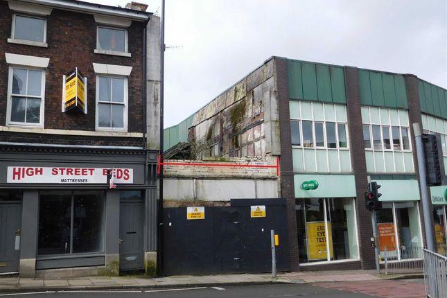 Retail premises for sale in Market Street, Longton, Stoke-On-Trent
