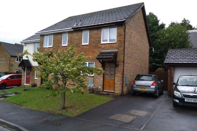 Thumbnail Semi-detached house for sale in Gavenny Way, Abergavenny