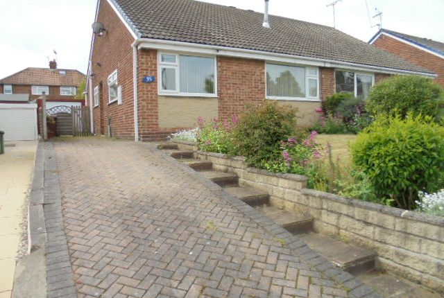 Thumbnail Semi-detached bungalow to rent in Priestley Drive, Pudsey