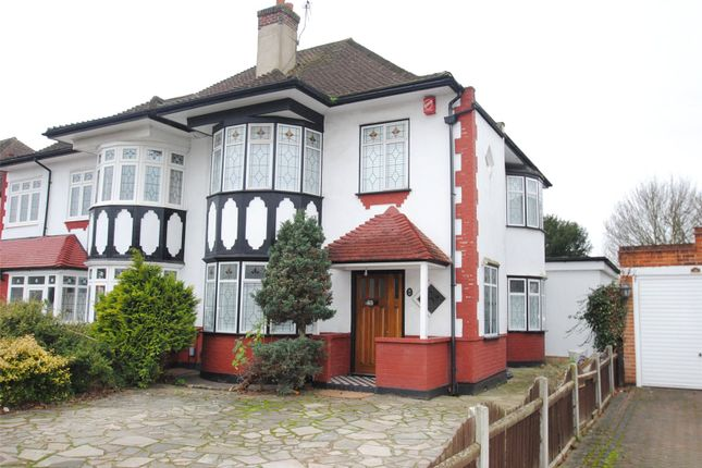 Thumbnail Semi-detached house for sale in Corbets Tey Road, Upminster