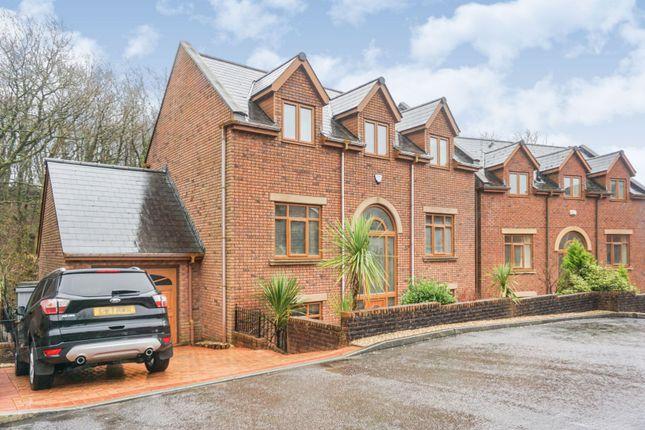 Thumbnail Detached house for sale in Nant Y Coed Close, Bridgend, Heol Y Cyw