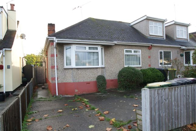 Thumbnail Semi-detached bungalow for sale in Danbury Road, Rayleigh