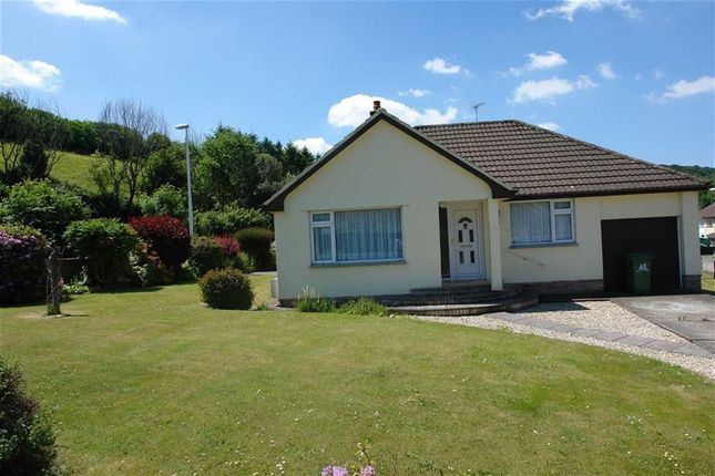 Thumbnail Detached bungalow to rent in St Mary's Close, Great Torrington, Devon