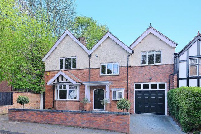 Thumbnail Link-detached house for sale in Moorland Road, Edgbaston, Birmingham