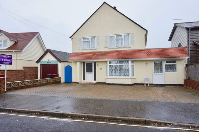 Thumbnail Detached house for sale in Marine Drive, West Wittering