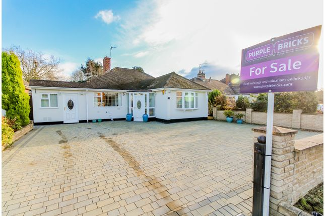 Thumbnail Detached bungalow for sale in Woodthorne Road South, Tettenhall, Wolverhampton