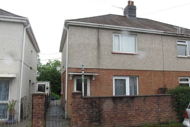 Thumbnail Semi-detached house for sale in Tre Ifor, Llwydcoed, Aberdare