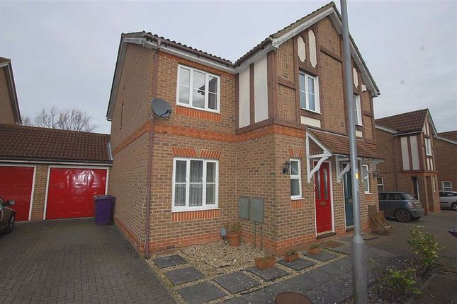 Thumbnail Semi-detached house to rent in Serpentine Close, Stevenage, Herts
