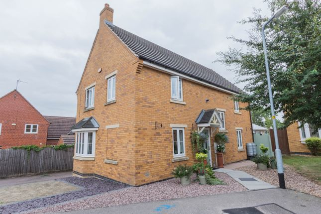 Thumbnail Detached house for sale in Green Close, Irthlingborough, Wellingborough
