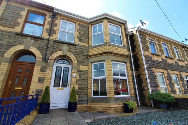 Thumbnail Terraced house for sale in High Street, Pentwynmawr, Newbridge