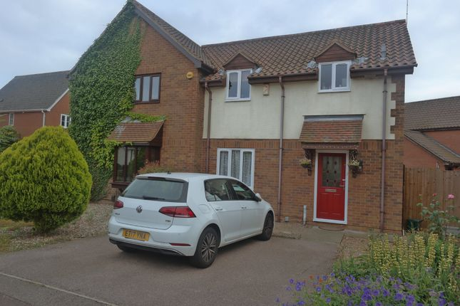 Thumbnail Semi-detached house to rent in Hurrell Down, Highwoods, Colchester