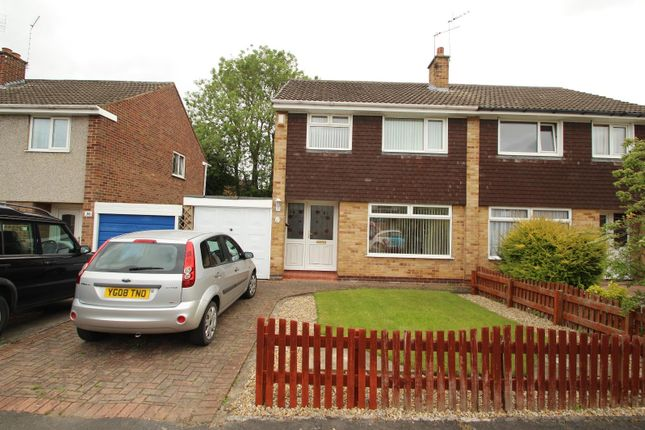 Thumbnail Semi-detached house to rent in Lowfield Drive, Haxby, York
