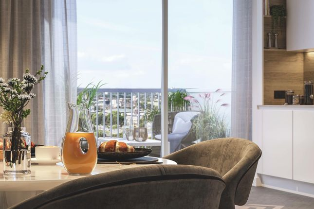 Thumbnail Flat for sale in Three Waters, Bow Creek, London