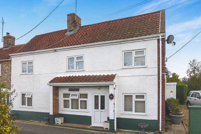 Thumbnail End terrace house for sale in Cromer Lane, Wretton, King's Lynn