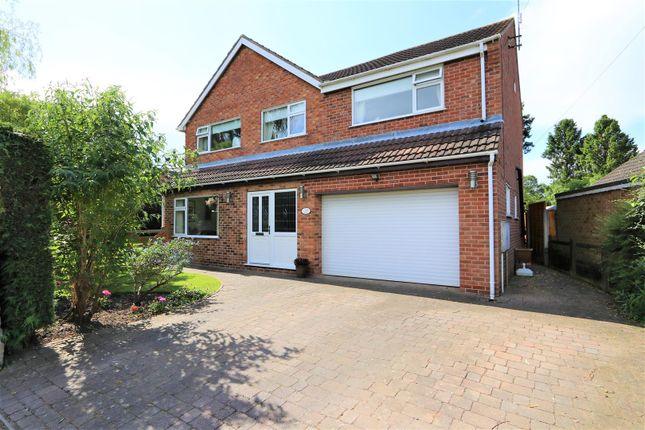 Thumbnail Detached house for sale in Park Lane, Weston-On-Trent