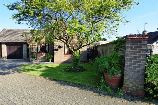 Thumbnail Detached bungalow for sale in Orchard Close, Yelvertoft, Northampton