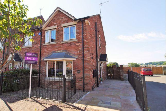Thumbnail End terrace house for sale in Edlington, Doncaster