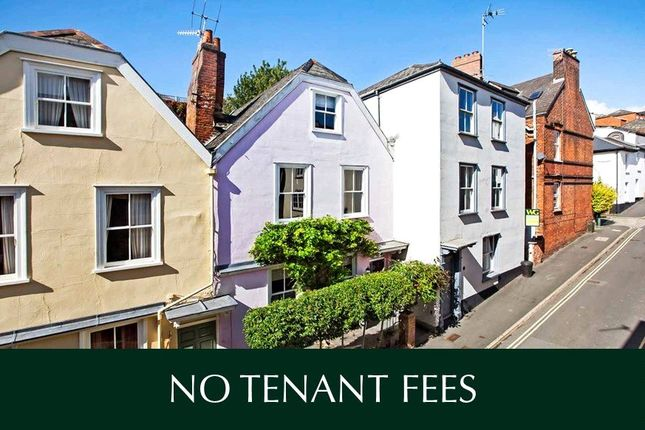 Thumbnail Terraced house to rent in Northernhay Street, Exeter