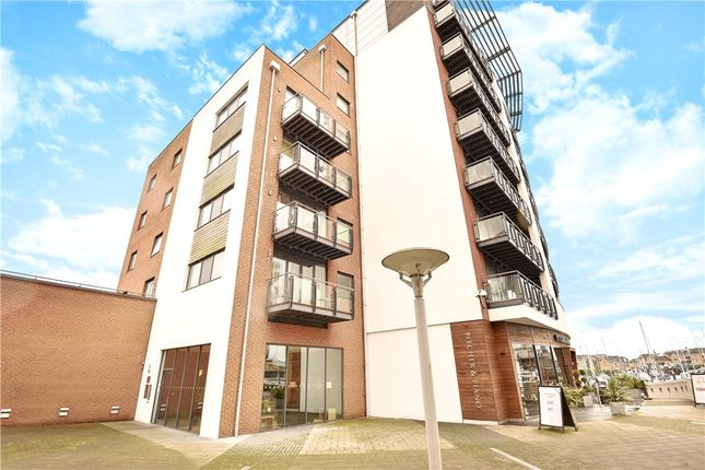 Thumbnail Flat for sale in Channel Way, Southampton, .